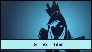 [ Dota2 ] iG vs Titan - The Summit Asia Qualifier - Thai Caster