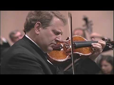 Shlomo Mintz  - Concierto para violín op. 77 en Re mayor - Johannes Brahms
