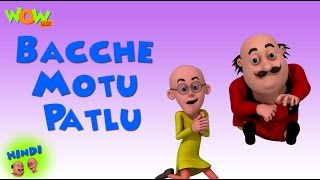 Bacche Motu Patlu - Motu Patlu in Hindi