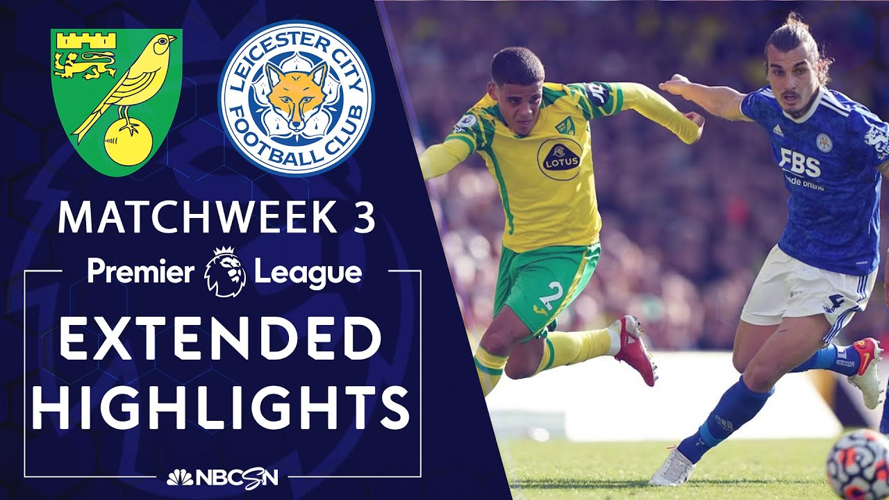 Download Norwich City v. Leicester City | PREMIER LEAGUE HIGHLIGHTS | 8/28/2021 | NBC Sports