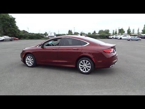 2015 Chrysler 200 Santa Rosa, Petaluma, Marin, San Francisco, North Bay, CA FN517225