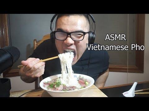 Asmr VIETNAMESE PHO NOODLES *EXTREME SLURPING *BIG BITES *NO TALKING