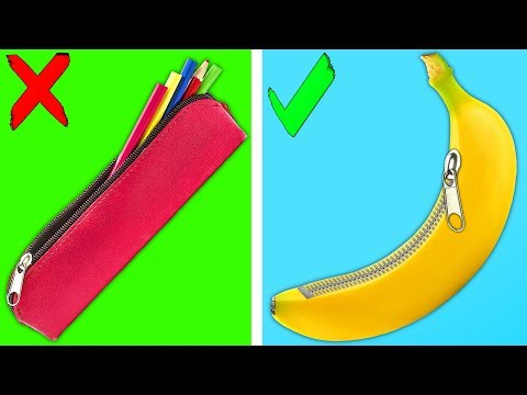TOP FUN SCHOOL HACKS AND CRAFTS LIVE