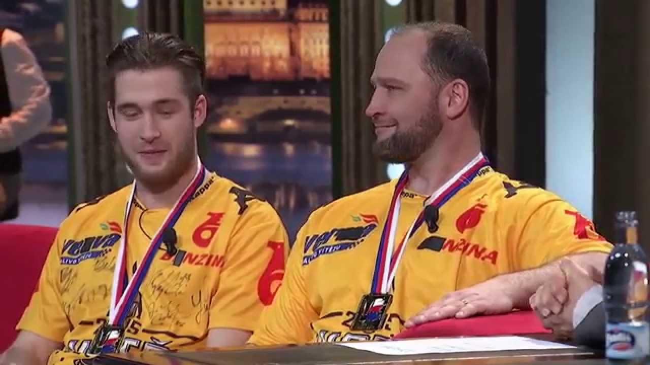 1. Pavel Francouz a Jiří Šlégr - Show Jana Krause 6. 5. 2015