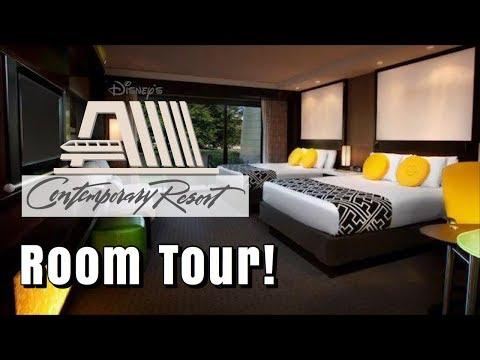 Disney's Contemporary Resort | Room Tour 2019