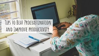 How to beat Procrastination and Laziness and Get Stuff Done | Procrastination Hacks that Work!