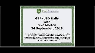 Forex Peace Army | Sive Morten GBPUSD Daily 09.24.18