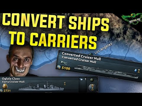 HOI4 Why you should Convert Cruisers to Carriers (Hearts of Iron 4 Man the Guns Guide)  