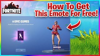 HOW TO GET THE BOOGIE DOWN EMOTE FOR FREE IN FORTNITE! (New Emote)