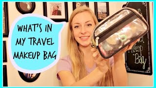 What's in My Travel Makeup Bag 2014 Thumbnail