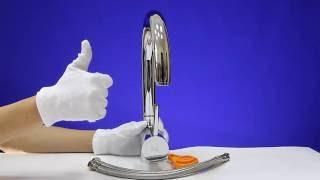 Видео обзор смесителя для кухни INVENA AXOS Смеситель для кухни Инвена Аксос