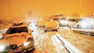 Страшный снегопад в Испании унес жизни нескольких человек