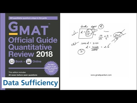 Q177 Data Sufficiency 2018 GMAT Quantitative Review