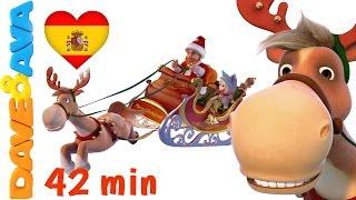 🎅 Canciones Infantiles de Dave y Ava | Canciones de Navidad para Niños | Dulce Navidad - Colección 🎅