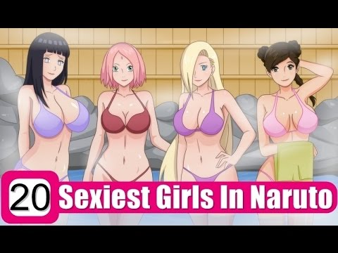 Top 20 Sexiest Females In Naruto