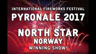 Pyronale 2017: Norway / Norwegen - North Star Fireworks  - WINNER!! - Feuerwerk