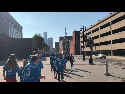Benzie Central Middle School Fuel Up to Play 60 Detroit Rally