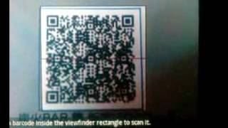 Repeat youtube video Androidのバーコードリーダーアプリ「Barcode Scanner」