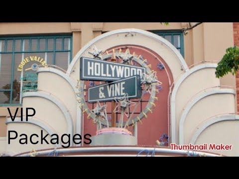 Dinner at Hollywood and Vine 7/20/2017