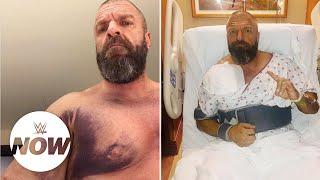 Video Superstars wish Triple H a speedy recovery: WWE Now download MP3, 3GP, MP4, WEBM, AVI, FLV November 2018