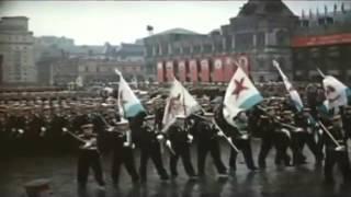Парад победы 1945 под песню День Победы