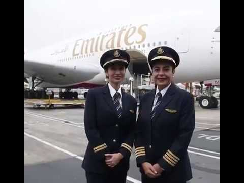 UAE's youngest A380 female pilot