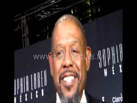 Forest Whitaker filmó con Dolores Heredia