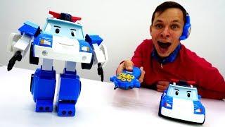 Мультики про машинки. Робокар Поли — машинка на голосовом управлении