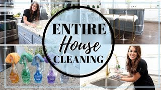 ALL DAY CLEANING | ULTIMATE CLEAN WITH ME | CLEANING FOR VACATION