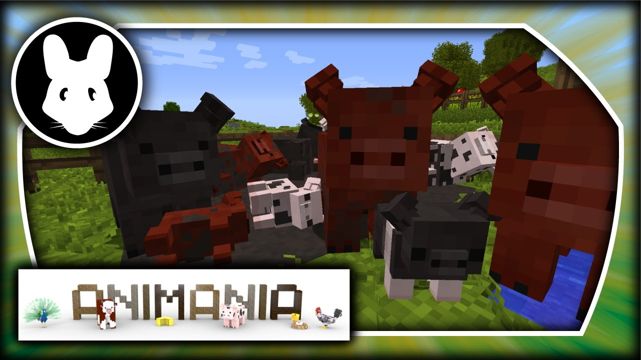 Animania: Pigs! Bit-by-Bit for Minecraft 1 11 2!