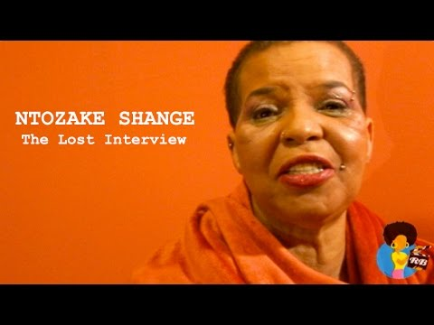 Ntozake Shange - The Lost Interview