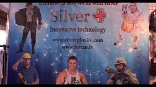 Trikotāža ar  sudraba diegiem, SIA Silver Plus