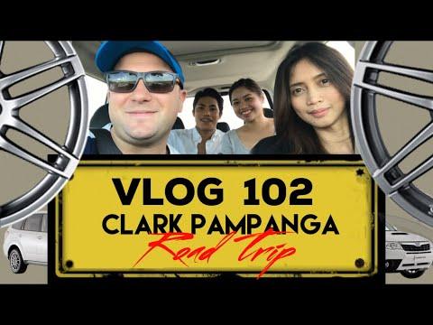Clark Pampanga Road Trip