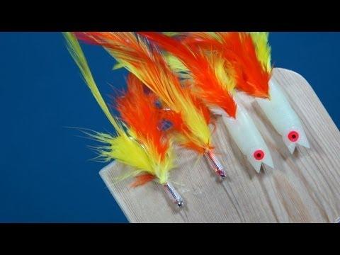 How To Tie Mackerel Feather Rigs, Hokkai Sea Fishing Lures