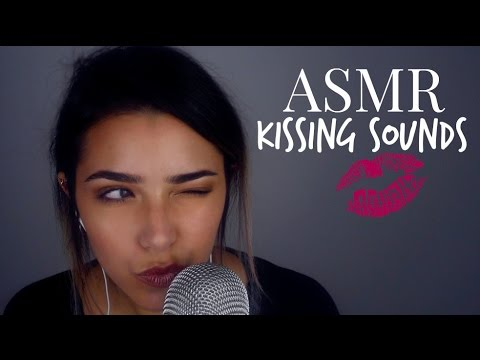 ASMR Kissing Sounds + Breathing sounds