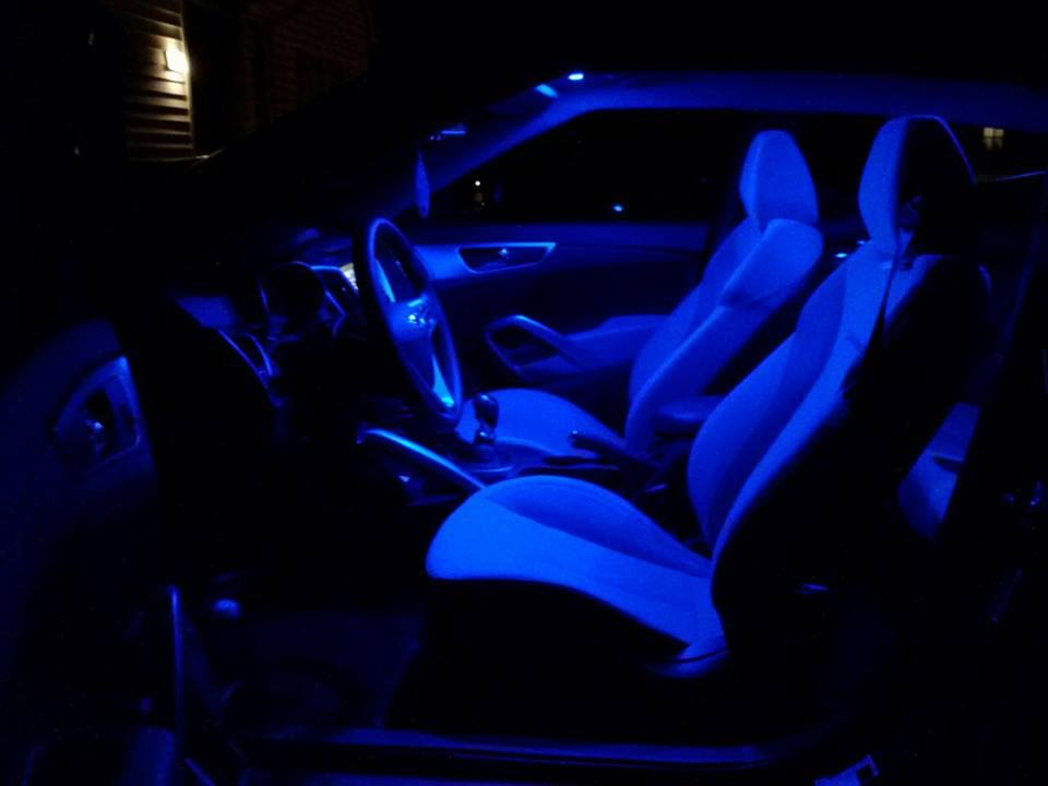350Z Blue Interior LED Lights By Classy Autos   YouTube