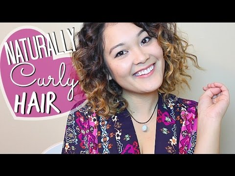 how to make your hair look naturally curly youtube
