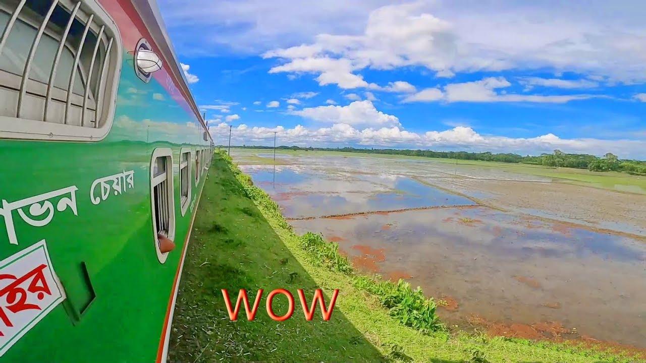 wow Train journey with kishoreganj express | 4k