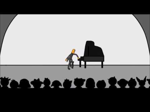 El recital de Piano | Palito de Pan el Cartoon Cap. 3