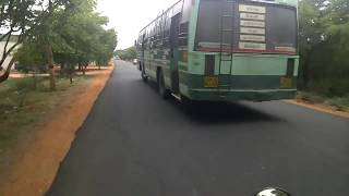 Theni Bypass road to KRR Nagar (RAW VIDEO)