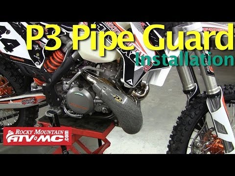 P3 Carbon Pipe Guard | Parts & Accessories | Rocky Mountain