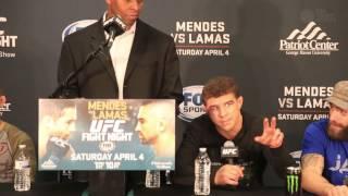'Raging' Al Iaquinta explains in-cage raging on UFC fans.