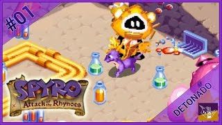 SPYRO: ATTACK OF THE RHYNOCS #01 - Início da aventura, Dragon Shores e Fairy Library