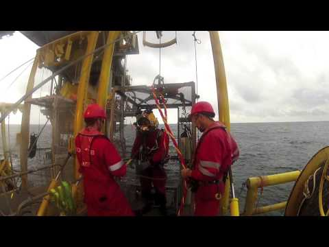 TECNOSUB Divers, IDOHO platform, Nigeria