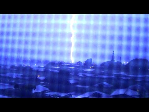 Tropical Storm Darby Lightning  ( 17:18 ) cloud to ground Lightning