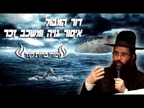 הרב יעקב בן חנן   דור המבול ואיסור גויה