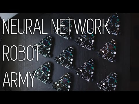 Assembling A Neural Network Robot Army