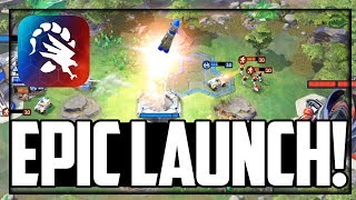 An EPIC LAUNCH! Command & Conquer Rivals Real Time Strategy for Mobile!