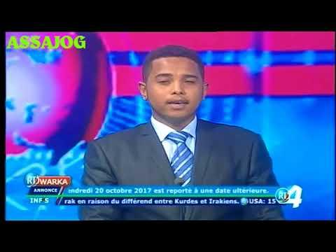 Djibouti: Warkii Maanta 28/10/2017