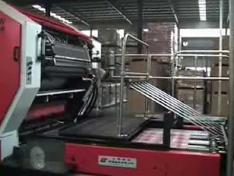 two colours tin printing machine youtube